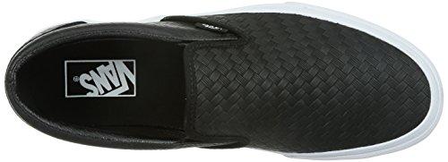 Vans  U Classic Slip-On,  Unisex Erwachsene Kurzschaft Stiefel Emboss weave