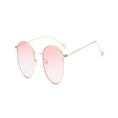 Sport-Sonnenbrillen, Vintage Sonnenbrillen, Vintage Round Sunglasses Women Summer Clear Lens Small Frame Sun Glasses For Men Fashion Yellow Blue Green UV400 Metal 03
