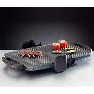 ROMMELSBACHER KG 2000 Twin Set - COMFORT GRILL - 2000 Watt - graphit-metallic