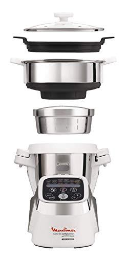 Moulinex Cuisine Companion Robot de cocina + Accesorio Vapor