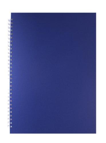 Pink Pig Skizzenbuch - Schwarzes Papier Geprägte Papierabdeckung A3 (Geprägte Grafiken)