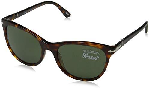 Persol Damen 0Po3190S 24/31 54 Sonnenbrille, Braun (Havana/Green)