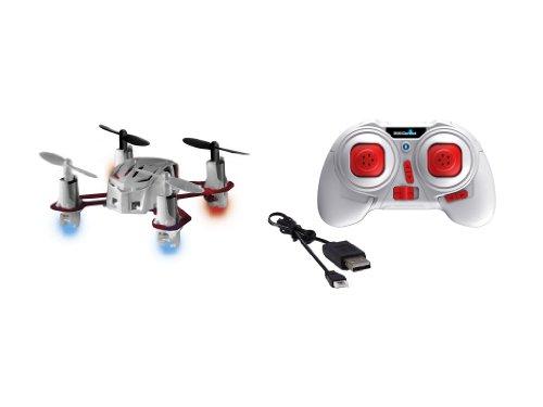 Preisvergleich Produktbild Mini Quadrocopter Nano Quad Revell 23970 2,4 GHz 4 Kanal USB Lade Kabel weiß RC