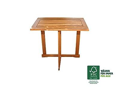 SAM® Akazie Holz Gartentisch Alessio, FSC® 100% zertifiziert, hochwertiges massives Akazienholz für Garten und Terrasse 70 x 45 cm von SAM® auf Gartenmöbel von Du und Dein Garten
