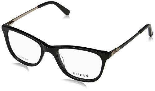 Guess Unisex-Erwachsene GU2566 005 49 Brillengestelle, Schwarz (Nero), - Guess Brille Frames
