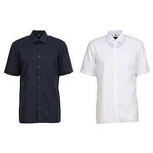 Olymp Herren Hemd Modern Fit Kurzarm