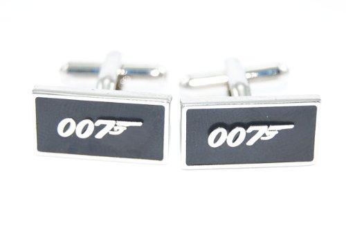 gemelolandia-gemelos-007-james-bond-de-forma-rectangular-color-acero-y-negro