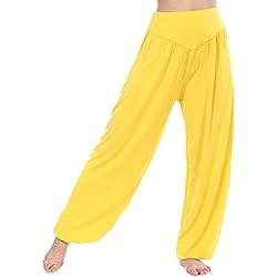 HOEREV Pijama YOGA de Super Soft pantalones de de las mujeres