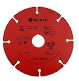 Wurth Disque de coupe Universel avec grain en Hartmetall–Nouveauté würth 0667410112