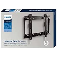 "Philips sqm3221/00 42 ""Flat Screen Wall Mount – black wall mounts for flat screens (TV, 25 Kg, 106.7 cm (42""); 100 x 100 mm, 200 x 200 mm, black) preiswert"