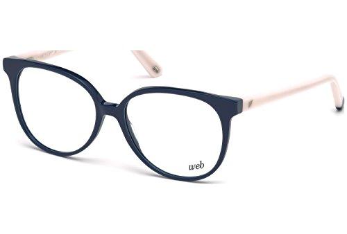 Web WE5199 C54 090 (shiny blue / ) Brillengestelle