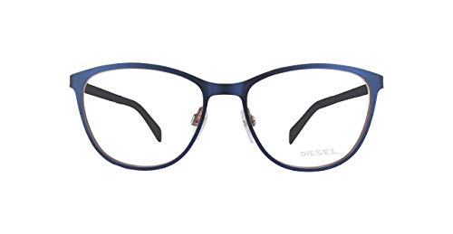 Diesel Damen Brillengestelle DL5228-091-52, Blau, 58