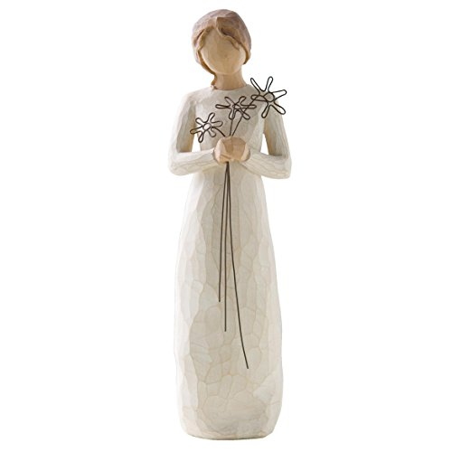 Willow Tree 26147 Figur Dankbarkeit, 3,8 x 3,8 x 22,9 cm -
