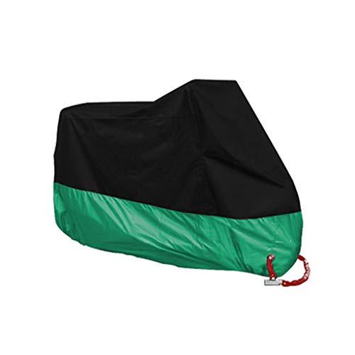 YYF Abbigliamento da motociclista - impermeabile rivestito in poliestere 190T - copertura antifurto for moto pesante - custodia for moto nero (Color : J-S)