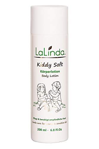 Naturkosmetik Bodylotion für Kinder und Babys ✔ Leichte Creme zur Pflege von trockener Haut ✔ für sehr empfindliche Haut geeignet ✔ 200ml