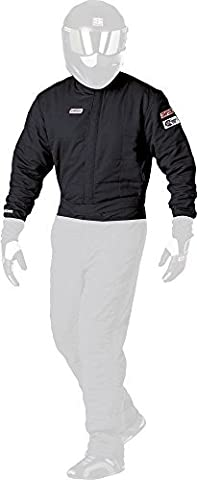 Simpson Racing Equipment 0602412 SS Jacket Double Layer Black X-Large