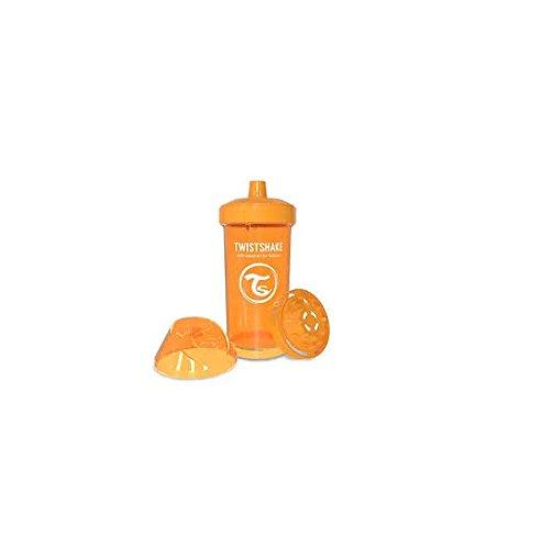Twistshake 7350083120700 auslaufsicher Trinkflasche, 360 ml, Orange -