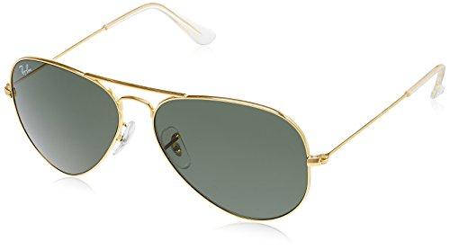 Ray-Ban Aviator Sunglasses (Gold) (RB3025|L020558)