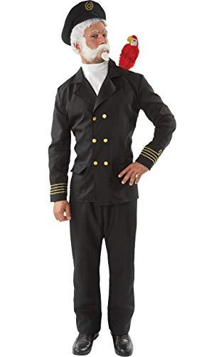Kapitän Vogelaugen Marine Matrose Uniform TV Lustig Karnival Kostüm - Fischer Kostüm