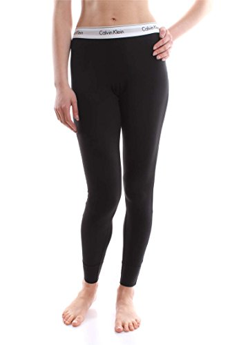 - 315KIwTiAVL - Calvin Klein Women Modern Cotton PJ Lounge Pant, Black