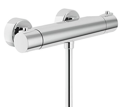 Nobili rubinetterie sy97030 miscelatore termostatico per doccia esterno collezione sky cromo