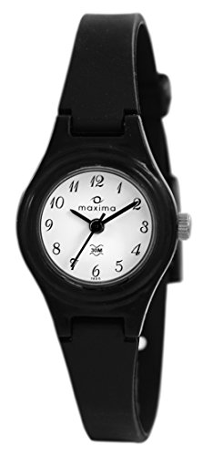 Maxima Aqua Regular Analog White Dial Women's Watch - 01605PPLW