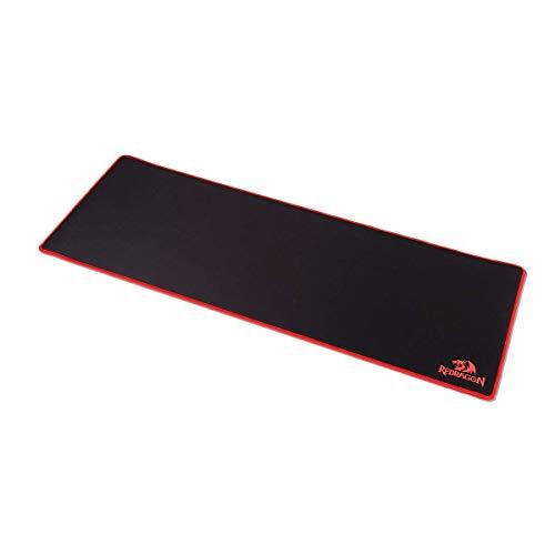 [Verlängerte Version] Redragon Gaming Mouse Pad wasserdicht Maus Pad mit rutschfestem Gummibasis 80x30 cm - Seide Lösung