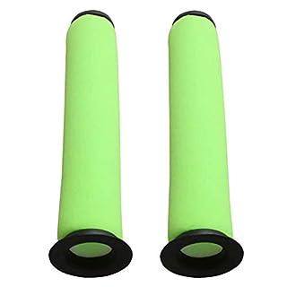Anboo für Dyson Gtech AirRAM MK2Staubsauger Filter, grün Bin Stick Vakuum Filter für AirRAM MK2K9ersetzen Flter Vakuum Zubehör 2Pack Airram Mk2 K9 Filter