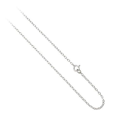 Sterling Silver 1mm Rolo Belcher Chain Bracelet, Anklet, Necklace 7