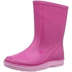Beck Basic 486 - Botas plisadas para niños, Rosa (Pink 6), 25