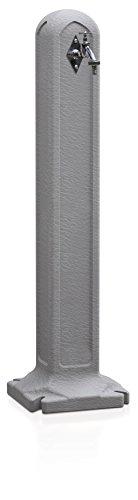 Terra - rubinetto per acqua tanker, grigio, 24x24x90 cm