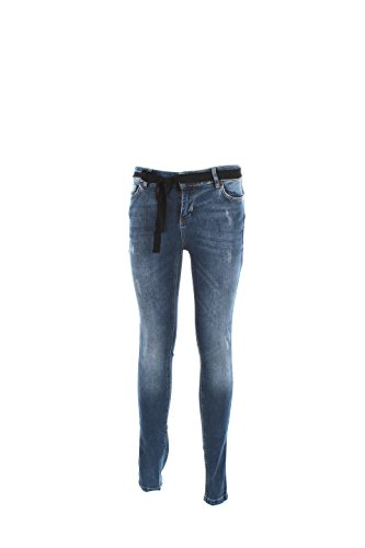 Jeans Donna Twin-set 32 Denim Ja62xs Autunno Inverno 2016/17