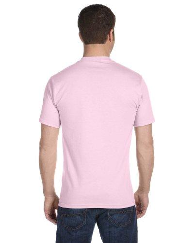 Hanes Mens 6.1 OZ. Beefy-T (5180) Pale Pink Pale Pink