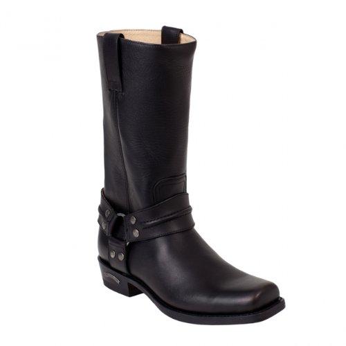 Sendra Boots 2380 schwarz Gr. 48 * incl. original MOSQUITO  Stiefelknecht *