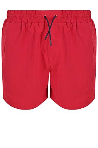 Fila Hombre Martin Basic Swimshorts, Rojo, S