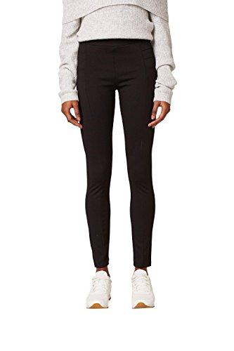 ESPRIT Damen Leggings 097EE1B039, Schwarz (Black 001), WNA(Herstellergröße:XS)