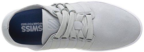 K-Swiss Herren D R Cinch Lo Sneaker Grau - Gris (High Rise/White)