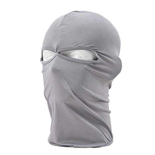 WYCYZJ Full Face Cover Mask Three 2/3 Knit Hat Winter Stretch Snow Mask Beanie Hat Cap New Black Warm Face Masks,B-4