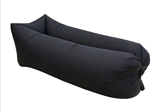ZERUU® Aufblasbarer Strandliege-Luftschlafsack-im Freiensofa Bequemer aufblasbarer Aufenthaltsraum-bewegliche Kompression Sofa-Luft-Beutel-im Freien Kompressions-Luft-Betten, beweglicher Stuhl, Luftmatratzen Beds.Ideal für das Lounging (Green) - 5