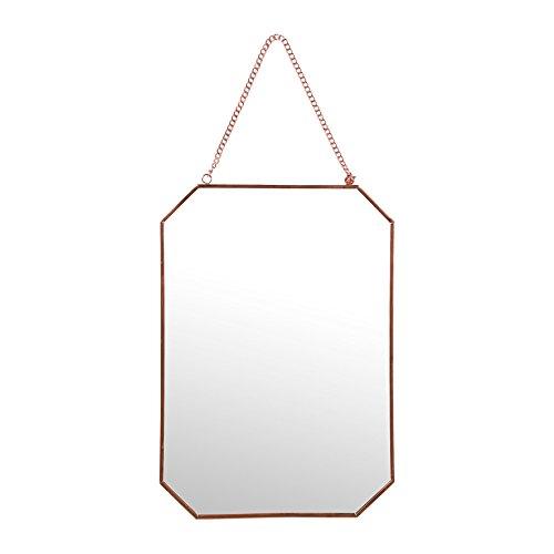 Sema-98962-espejo-de-pared-hexagonal-gran-modelo-Metal-rosa-dorado-005-x-21-x-30-cm