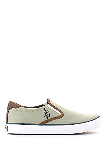 LEROYHONOLULUBLKSKY U.S. Polo Assn. Pantoffeln Herren Stoff Multicolor Beige
