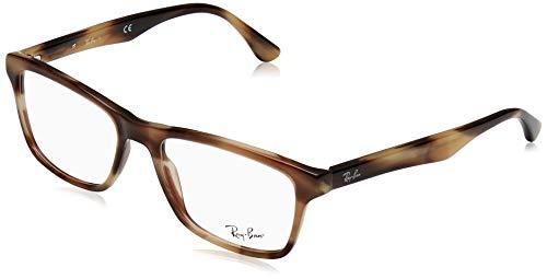 Ray-Ban Herren 0RX5279 Brillengestelle, Braun (Horn Beige Brown), 55