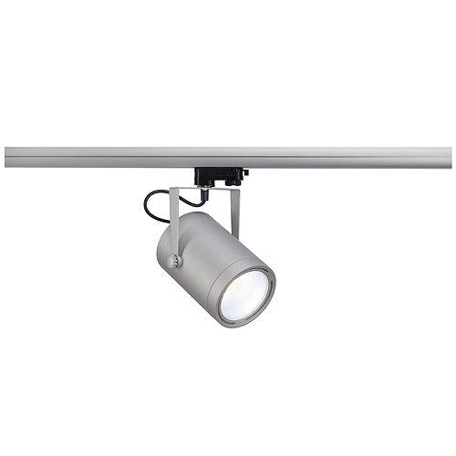 SLV, Faretto LED per illuminazione su binario, incl. adattatore tripolare, A+, 1100 lumen, 4000 kelvin