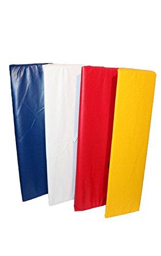 Set von 4x 4ft Ecke Pads für eine Universal Boxen Ring (verschiedene Farben) Yellow x4 (4' Corner)