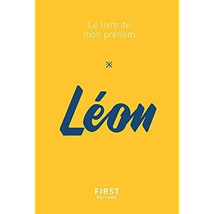 69 Le livre de mon prénom - Léon