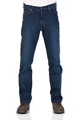 Wrangler Herren Jeans - Straight-Cut-Jeans 'Arizona' (Spilled Indigo) 32 in 32L