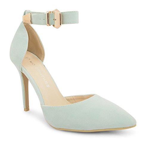 Footwear Sensation Zapatos de vestir para mujer Negro verde menta