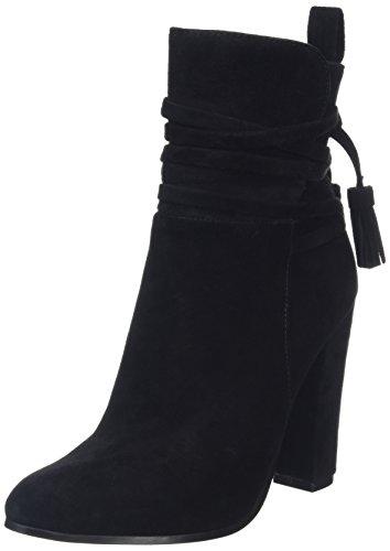 Steve Madden Footwear Glorria Ankleboot, Stivaletti donna, Nero, 39 EU