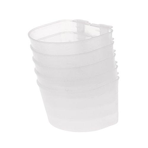 Girasool Automatischer Wasserspender für Geflügel, Kunststoff, 6,5 x 6,5 cm 6.5 Chaos