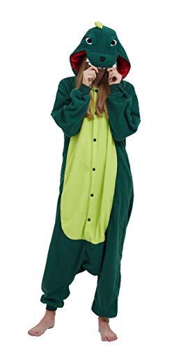 SAMGU Einhorn Adult Pyjama Cosplay Tier Onesie Body Nachtwäsche Kleid Overall Animal Sleepwear Erwachsene Dinosaurier XL